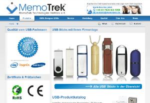 MemoTrek Vertrieb Website 2010 bis 2017 Produktfoto
