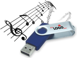 USB Sticks mit Musik