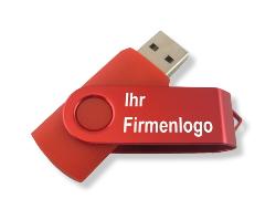 Jetzt 16 GB Speichersticks mit Ihrem Firmenlogo bedrucken.