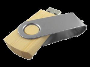 MemoTrek Vertrieb Produktbild Holzstick Wooden Swivel