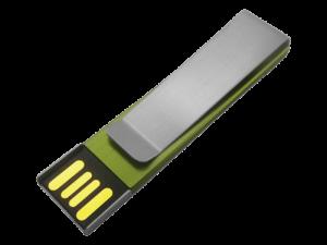 MemoTrek Vertrieb Farbiger Metallstick Slimline Clip Produktfoto