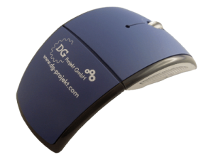 MemoTrek Vertrieb USB Funkmaus Flip Mouse Produktfoto