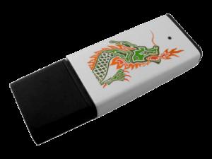 MemoTrek Vertrieb Kunststoffstick Klassischer Speicherstick mit Aluminium-Oberfläche Business Edge Produktfoto