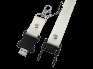 MemoTrek Vertrieb USB-Stick-Lanyard Umhängeband Flash Yard Produktfoto