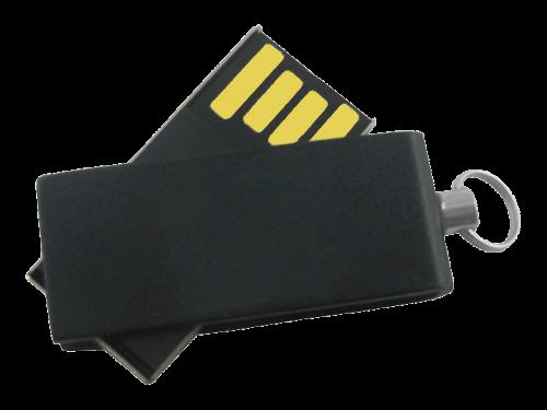 MemoTrek Vertrieb Mini USB-Stick mit Logo Nano Brick Produktfoto