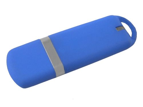 MemoTrek Vertrieb Farbiger USB-Kunststoffstick Smooth Silk Produktfoto