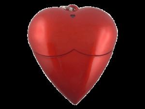 MemoTrek Vertrieb USB-Stick in Herzform Memory Heart Produktfoto