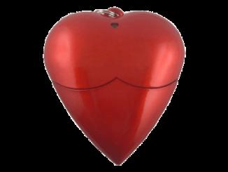 MemoTrek Vertrieb USB-Stick Herzform Memory Heart Produktfoto