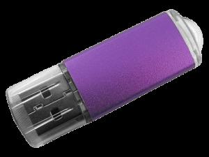 MemoTrek Vertrieb Kunstoffstick Metalloberfläche Lucent Stick Produktfoto