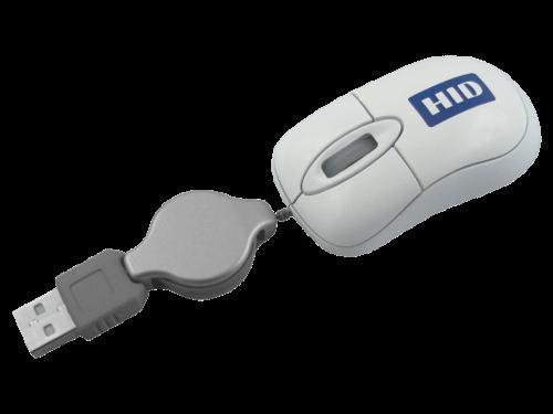 MemoTrek Vertrieb USB-Minimaus mit Kabel Travel Star Produktfoto