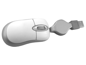MemoTrek Vertrieb Mini Kabelmaus Travel Star Produktfoto