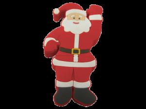 MemoTrek Vertrieb USB-Weihnachtsmann Santa Claus Produktfoto