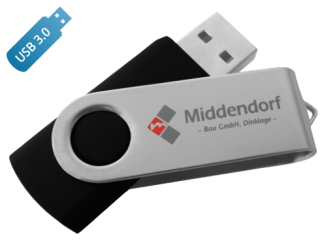 MemoTrek Vertrieb USB-3.0-Stick Clip 'n Easy Produktfotot