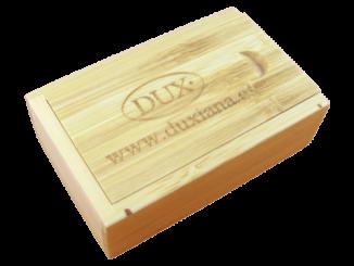 MemoTrek Vertrieb USB-Holzverpackung Holzbox Bambus BambooBox Slider Produktfoto