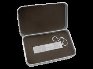 MemoTrek Vertrieb USB-Verpackung Metallbox mit Logo Produktfoto