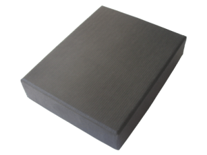 MemoTrek Vertrieb Große USB-Verpackung Schwarze Kartonbox Produktfoto