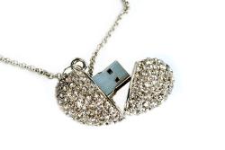 USB Herz Crystal Heart von MemoTrek