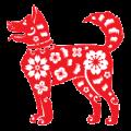 MemoTrek Chinesisch Neujahr Jahr des Hundes 2018 Foto