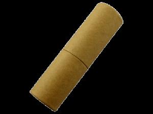 Zylindrischer USB-Stick Recycling Papier Produktfoto MemoTrek Vertrieb
