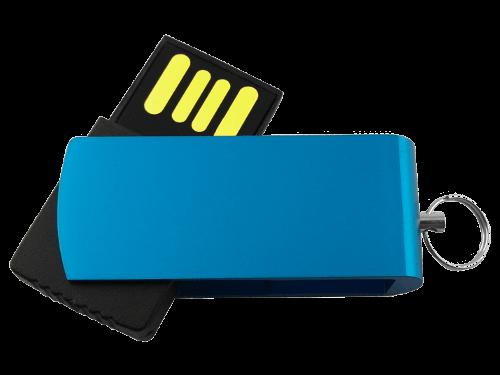 Kleiner USB-Stick Micro Swivel Produktfoto MemoTrek Vertrieb