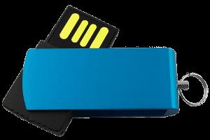 Großhandel USB-Sticks mit Logo neue Werbemittel Ideen Produktfoto Micro Swivel MemoTrek Vertrieb
